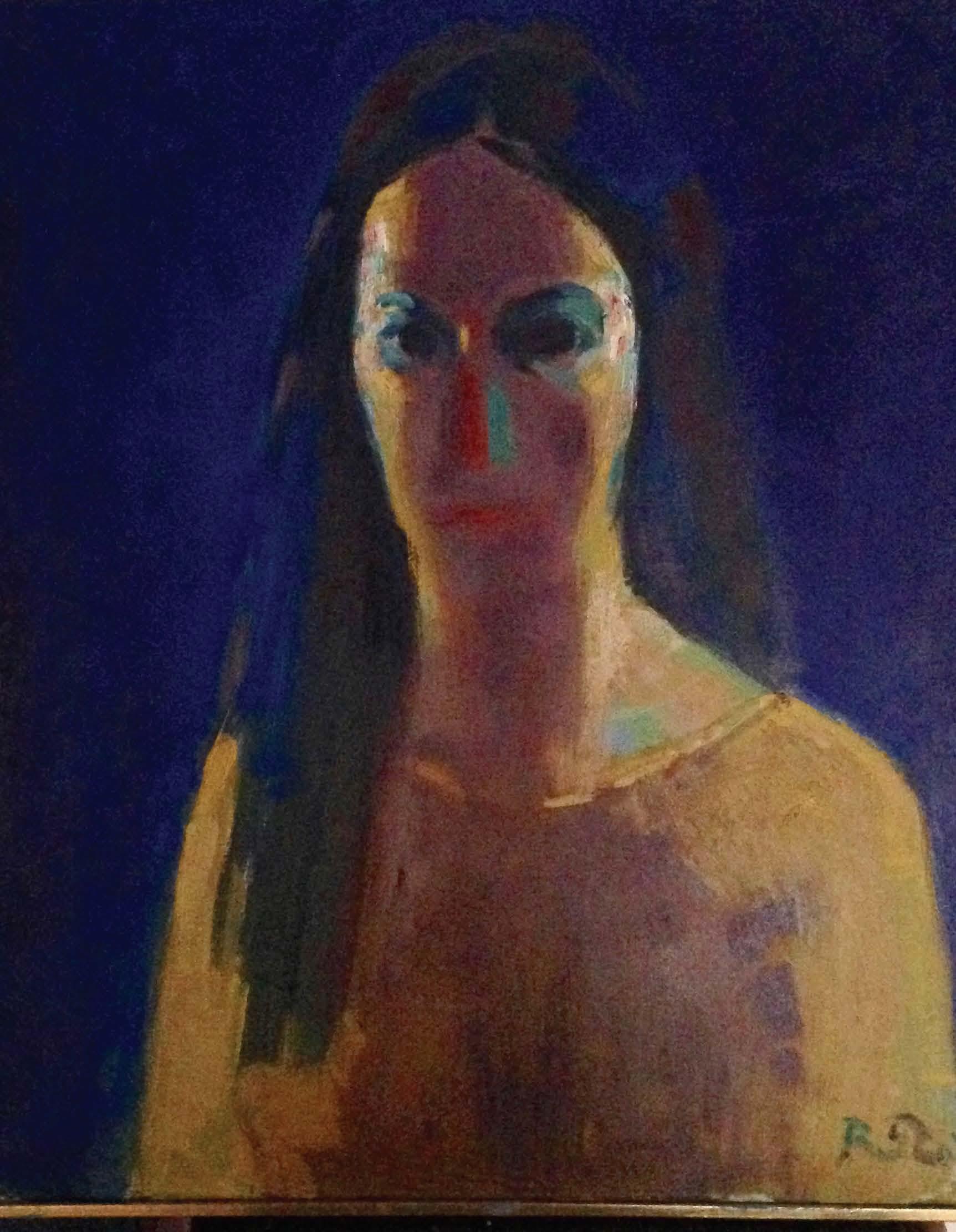 Lucia da Coridonia olio su tela 50x60cm 2019