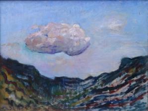 nuage 125x95 cm huile sur toile 2015
