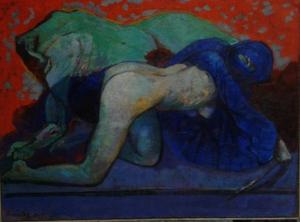 salome et Holoferne peinture à l'huile 2017