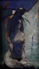 coppie di uomini e donne olio su tela 50x70 cm 2020 (detail)