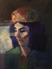 ritratto di Silvia  olio su tela 50x60 cm 2020