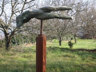 Sculpture réalisée par Ruudt Wackers